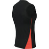 Aclima M's Lightwool Singlet Jet Black/Poinciana